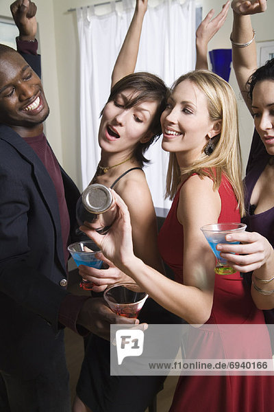 Mensch Menschen Party tanzen