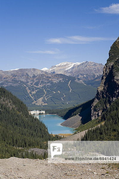 Lake Louise  Banff Nationalpark  Alberta  Kanada