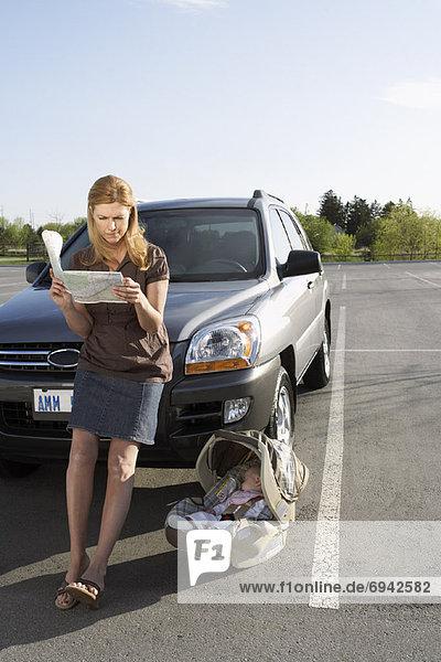 Auto  frontal  Mutter - Mensch  Baby