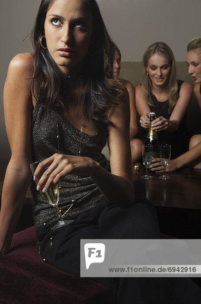 Frau  Nachtklub