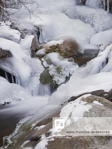 Stream im Winter