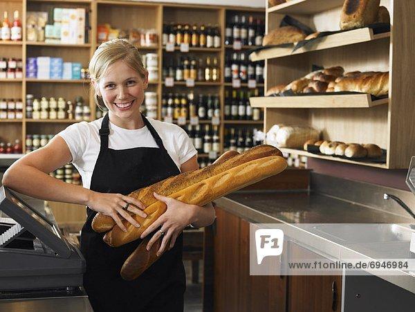 Portrait  Frau  Cafe