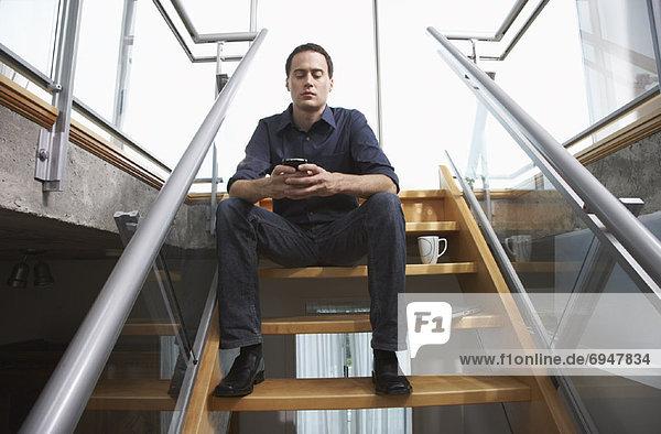 Interior  zu Hause  Portrait  Mann