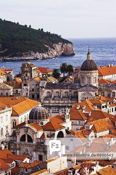 Großstadt Insel Kroatien Dubrovnik alt