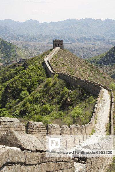 Wand  groß  großes  großer  große  großen  China  Jinshanling