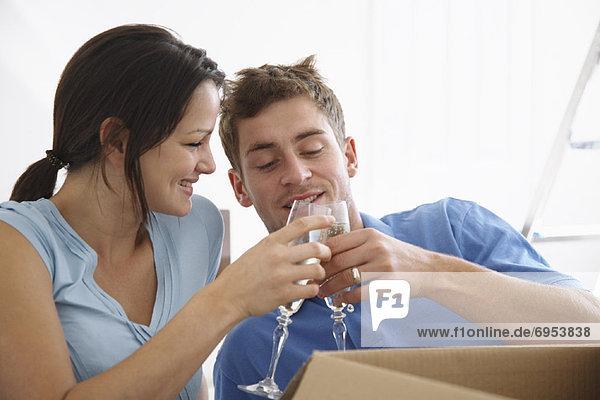Eigentumswohnung Champagner neues Zuhause