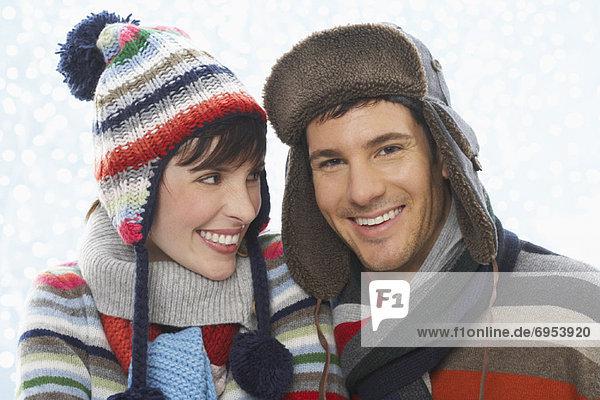 Portrait  Winter  Kleidung