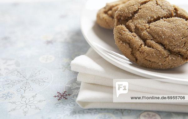 Teller Keks Ingwer