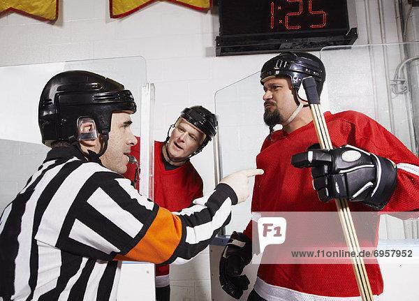 Spiel  Hockey  Schiedsrichter