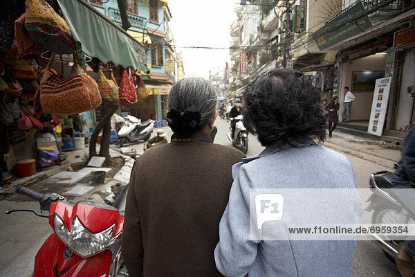 Street Scene  Hanoi  Vietnam
