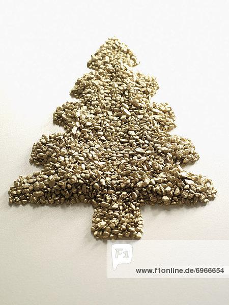 Form Formen Weihnachtsbaum Tannenbaum
