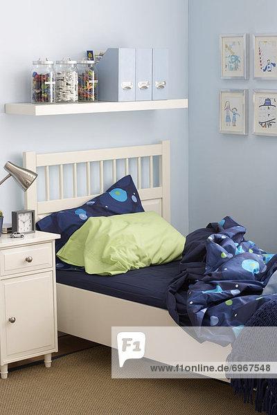 Schlafzimmer Innenansicht