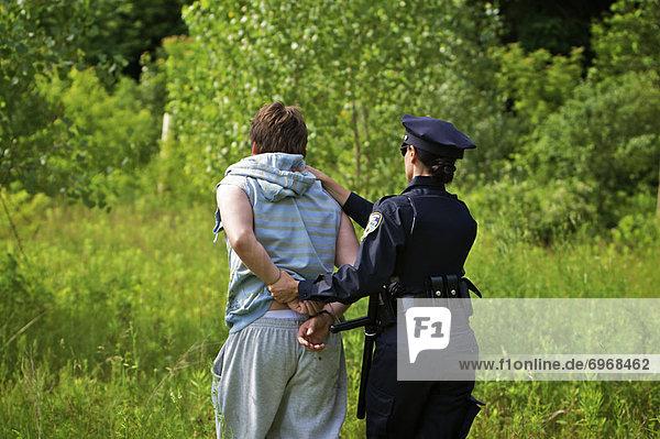 Festnahme , Offizier , Polizei