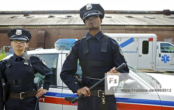 Portrait Polizei