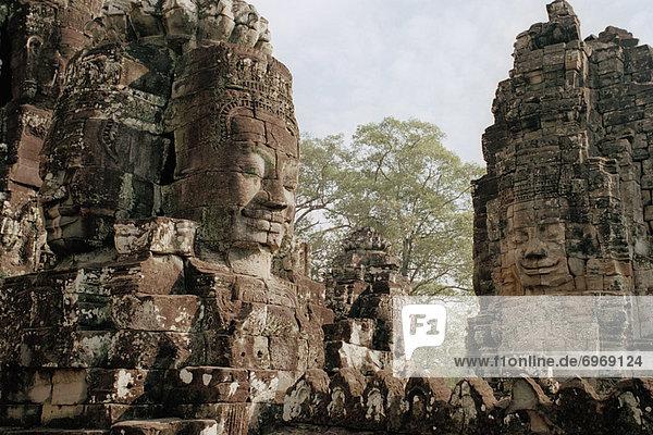Stone Sculptures  Angkor Wat  Siem Reap  Cambodia