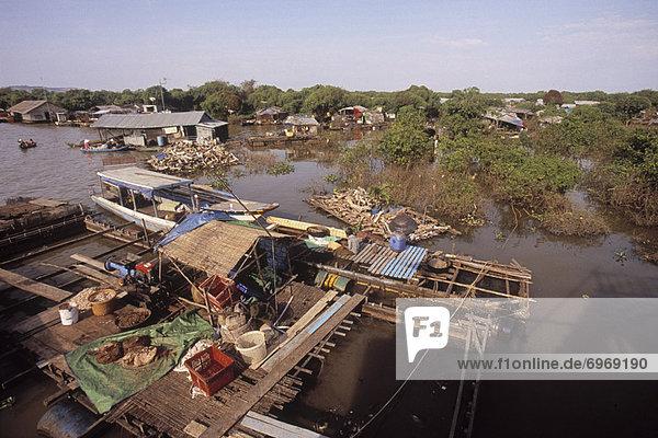 Tonle Sap Area  Cambodia