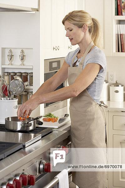 kochen Frau Küche