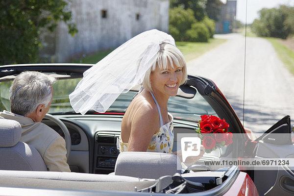 Braut  Cabrio  bekommen