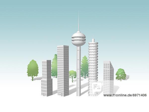 Gebäude  Illustration