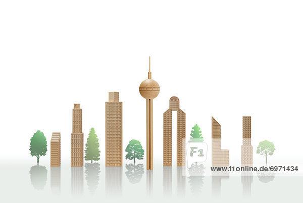 Gebäude Holz