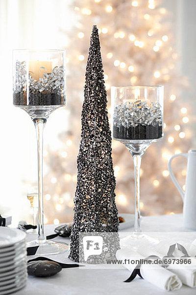 Tischset Weihnachten Tisch Büfett