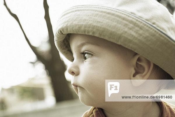 beißen  Junge - Person  klein  Hut beißen ,Junge - Person ,klein ,Hut