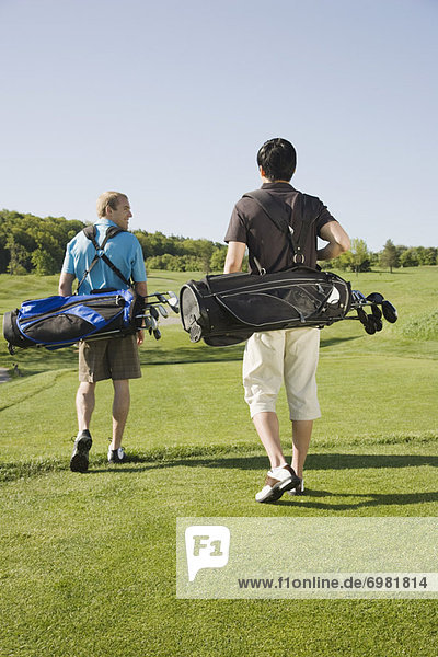 Mann  Golfsport  Golf  Kurs