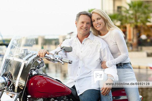 Portrait  Motorrad