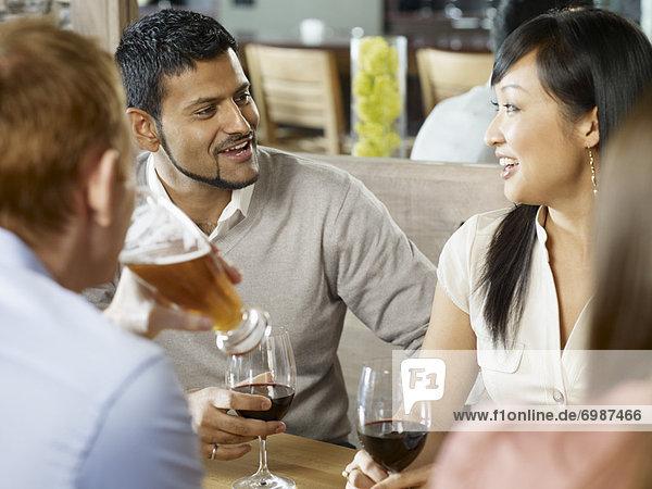 Freundschaft Wein Getränk