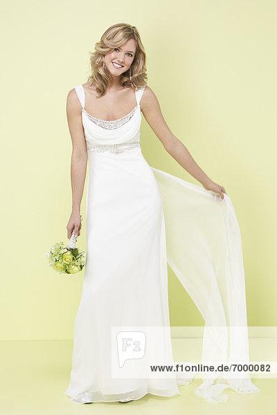 Portrait der Braut