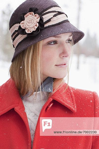 Portrait of Woman  Frisco  Summit County  Colorado  USA