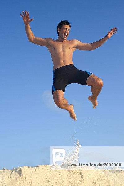 Hotel Urlaub Spa Riff Mann springt