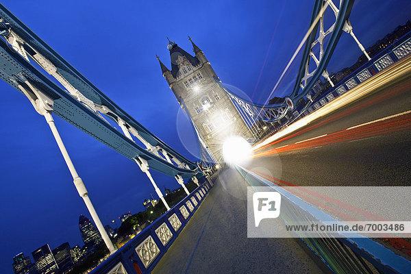 Tower Bridge  London  England  Großbritannien