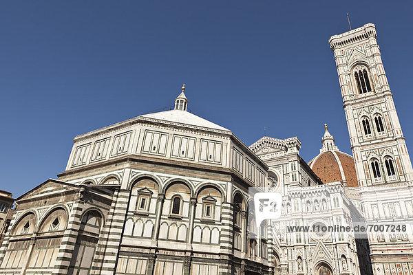 Kirchturm  Florenz  Italien  Toskana