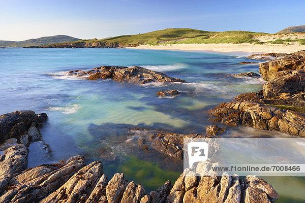 Felsen  Küste  vorwärts  Geräusch  Schottland