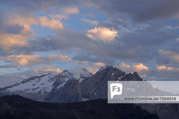 Trentino Südtirol  Dolomiten  Italien  Marmolata