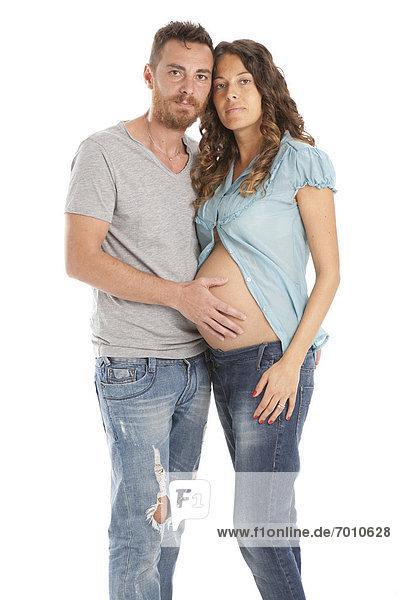 Portrait  Schwangerschaft