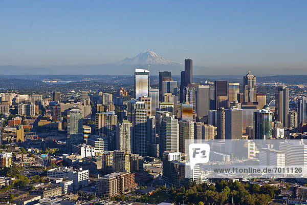 Mount Rainier Nationalpark  Innenstadt  Seattle