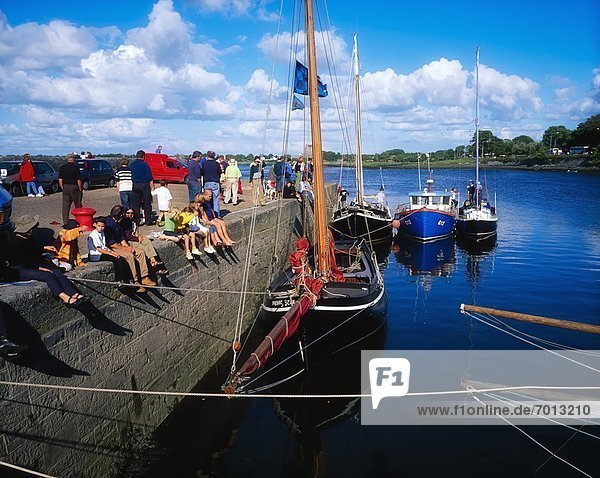 'Kinvarra Harbour  Co Galway  Ireland