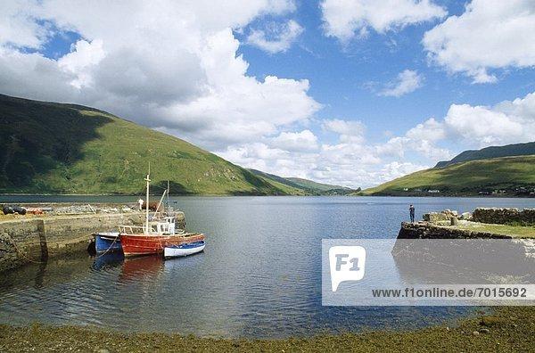 Co Galway  Near Leenaun  Killary Harbour