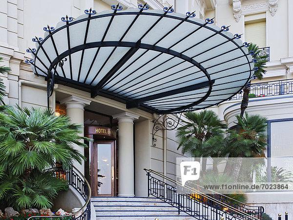 Paris  Hauptstadt  Eingang  Hotel  frontal
