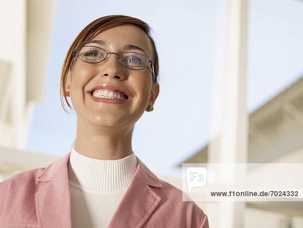 Portrait  Geschäftsfrau  jung