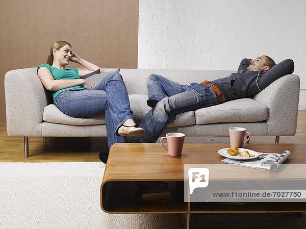 sprechen  Couch  jung