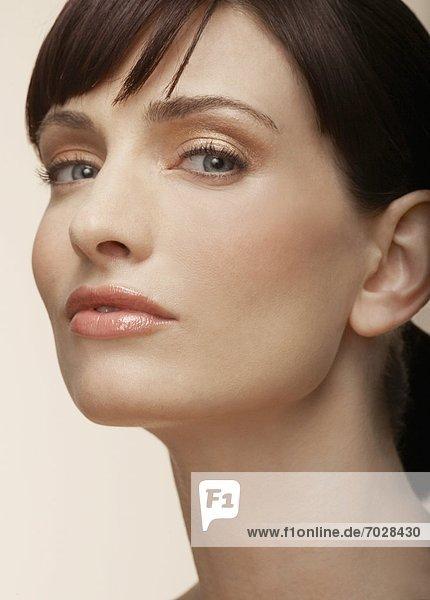 Portrait  Frau  Mittelpunkt  Erwachsener