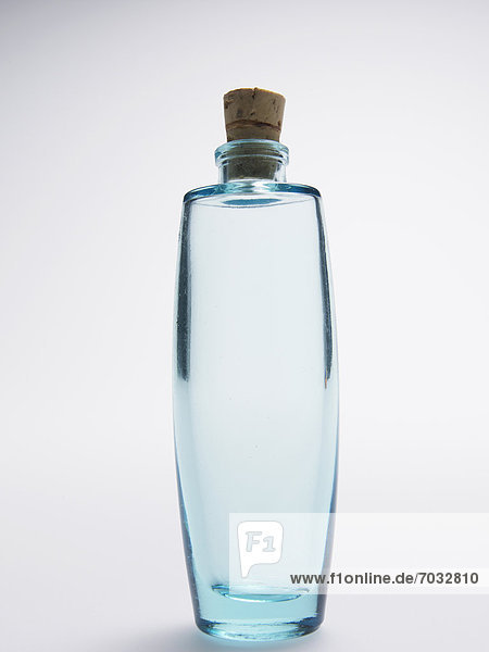 Single Glass Bottle with Cork