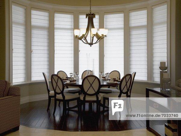 Interior Of Modern  Stylish Dining Room