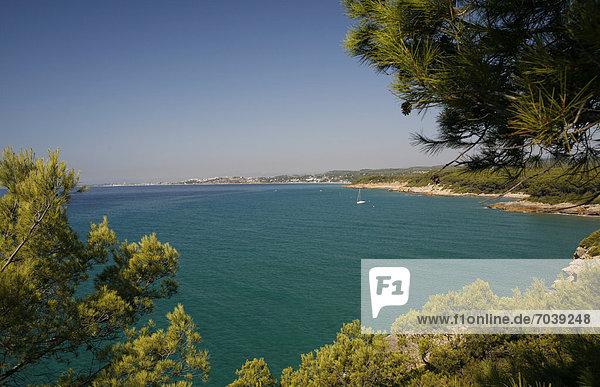 Europa Katalonien Mittelmeer Spanien