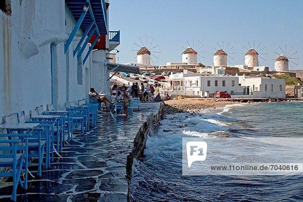 Stahlwerk  Griechenland  Little Venice  Mykonos