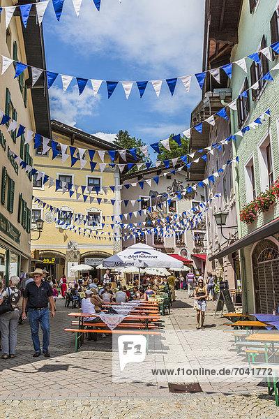 Marktfest in Berchtesgaden  Bayern  Deutschland  Europa