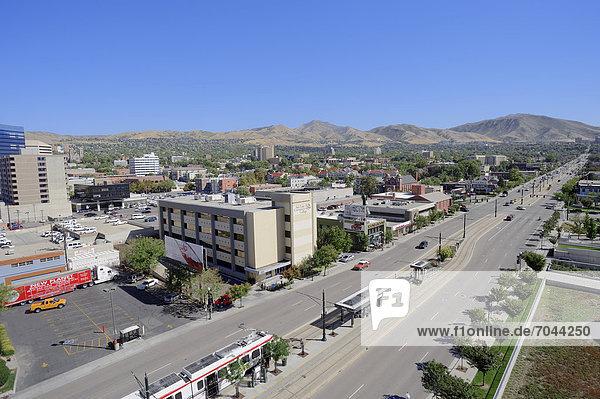 Street and Salt Lake Community College  Salt Lake City  Utah  USA
